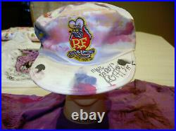 RARE 1995 Big Daddy Ed Roth Rat Fink SIGNED Hat / Cap WITH PICTURES