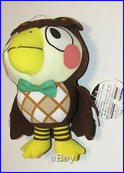 RARE Animal Crossing BIG Plush 10 inch BLATHERS 2001 Nintendo Japanese