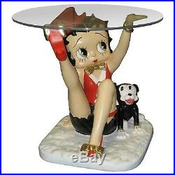RARE Betty Boop with Pudgy Big Figurine Table Statue display MIB NEW