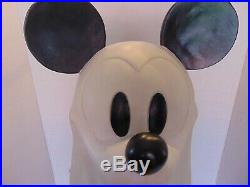 RARE Big Fig Mickey Mouse Ghost with Lights on Base