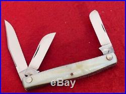 RARE Case Tested XX 1920-40 9392 LP Big Birdseye Imitation pearl stockman knife