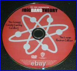 RARE Collectible Box BIG BANG THEORY Promotional 2-Ep DVD + POP-UP BOOK Penny