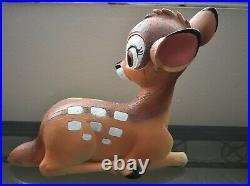 RARE Disney Bambi Statue 16 Tall Big Large Garden Yard DEER Figure / Repainted