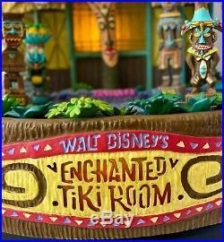 RARE Disney Big Fig Enchanted Tiki Room Adventureland by Larry Nikolai