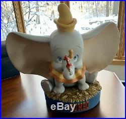 RARE Disney DUMBO & TIMOTHY Big Fig Figure Statue Sculpture Figurine