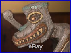 RARE Disney Enchanted Tiki Room Drummer Lamp Big Fig LE 1000 SHIPPING INCLUDED