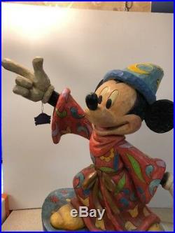 RARE Disney Jim Shore Mickey Mouse Sorcerer Magic is Everywhere Big Figure 24