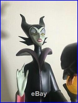 RARE Disney Maleficent Sleeping Beauty Big Fig Figure Statue Evil Villain LE