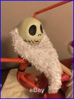 RARE Disney Santa Jack Skellington Nightmare Before Christmas Big Fig Figure
