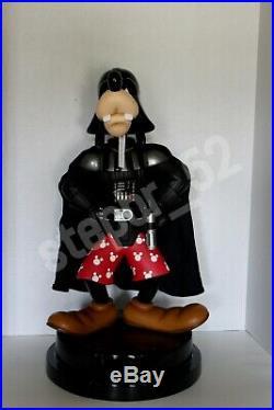 RARE Disney Star Wars Weekends 2007 Darth Goofy Big Figure. Limited 1/600