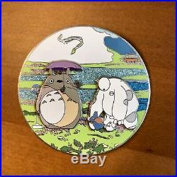 RARE Disney Studio Ghibli Totoro Baymax Big Hero Six 6 FANTASY JUMBO Pin LE 100