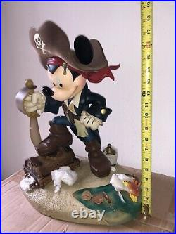 RARE Disney Theme Park Mickey Mouse Pirates of the Caribbean Big Fig LE 120