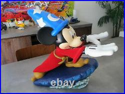 RARE Disney Theme Park Mickey Mouse Sorcerers Apprentice Big Fig Limited Ed