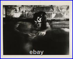 RARE EDMUND TESKE BEAUTIFUL NAKED MAN in Mineral Baths, Big Sur, 1967 GAY INT