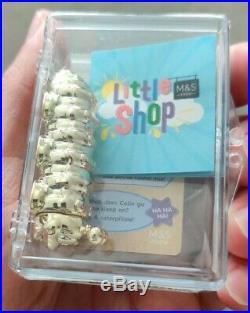 RARE GOLD Colin The Caterpillar M&S Big Shop Little Shop 2 Collectible SPECIAL
