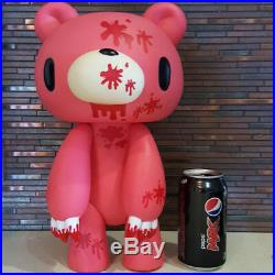 RARE Gloomy Bear XL Large BIG Figure 40cm PVC Poseable Pink With Blood