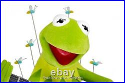 RARE Kermit Big Fig New in Box Musical and Lighted Figurine Art of Disney