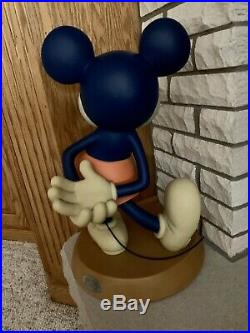 RARE Mickey Mouse 75 Years Disney Big Fig Disneyland DIsney World Figure