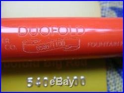RARE Parker Duofold Centennial Big Red 18K Limited Edition Fountain Pen