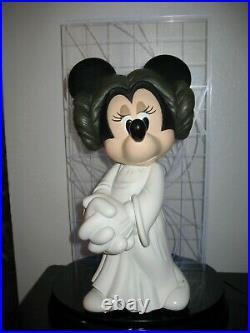 Rare 2007 Star Wars Weekends Minnie as Princess Leia Big Fig #481/600