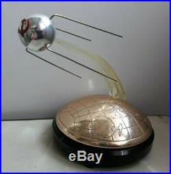 Rare BIG SPUTNIK Space First Satellite 1957 USSR Russian Musical Souvenir