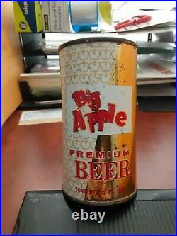 Rare Big Apple Premium Beer Flat Top Can-NICE