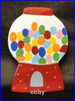 Rare Big Gumball Machine Happy Everything Attachment Coton Colors