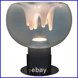 Rare Big Version of Toni Zuccheri Membrana Lamp for VeArt 70s Murano glass