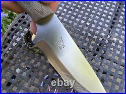 Rare Bushcraft Camping PLSK 2 Blind Horse Knives Dave Canterbury Big Horse Logo