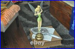Rare Disney 2007 Tinkerbell On Mirror Large Musical Big Figure New In Box