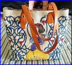 Rare Disney Dooney & Bourke Snow White Emily Shopper Tote Dream Big Princess