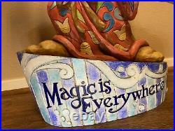 Rare Disney Jim Shore Mickey Mouse Sorcerer Magic is Everywhere Big Figure VTG