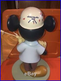 Rare Disney Mickey Mouse Disneyland Park Figure 50th Anniversary Big Fig Statue