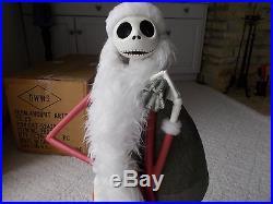 Rare Disney Santa Jack Skellington Nightmare Before Christmas Big Figurine NEW
