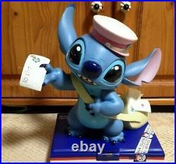 Rare Disney Store Limited Stitch Big Antique Figure Postman Height 40cm 626 Ltd