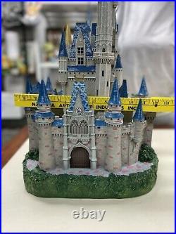 Rare Disney World Magic Kingdom Cinderella Castle Big Fig By Larry Nikolai