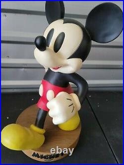 Rare Disney's RED PANTS Mickey Mouse Big Figure Fig PUPPY LOVE