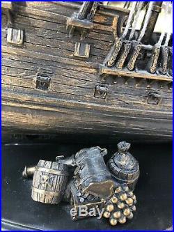 Rare LE300 Disney Park The Black Pearl Pirates Of The Caribbean Big Fig Figurine