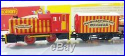 Rare Mint Unused Hornby R1107 Oo Gauge Bartellos Big Top Circus Train Set