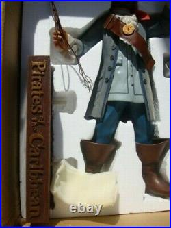 Rare Retired Pirates Of The Caribbean The Auctioneer Big Fig Figure