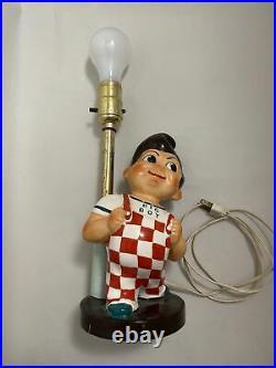 Rare Vintage 1940-1950 Bob's Big Boy Lamp Working