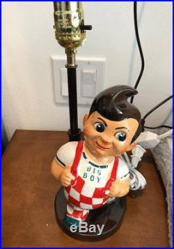 Rare Vintage 1957 Bob's Big Boy Lamp Working