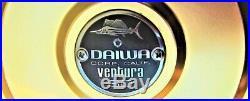 Rare Vintage Daiwa Ventura 60 Big Game Trolling Reel withBox MINT COLLECTIBLE