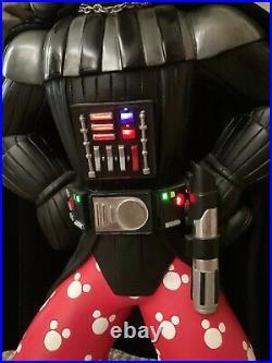 Rare'star Wars Weekends' Goofy Darth Vader Big Fig Disney Limited Randy Noble