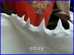 (SJ130-15) Big RARE 28-1/4 GREAT WHITE SHARK JAW jaws Teeth Tooth Carcharias