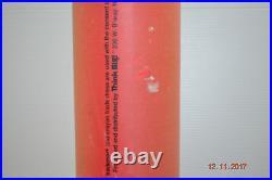THINK BIG! NYC 1989 Jumbo Crayola Crayon 57 Huge Large Rare Red Advertisement