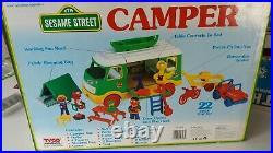 TYCO Vintage Sesame Street Camper Van RARE CHARACTERS ELMO BIG BIRD ERNIE