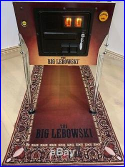 The Big Lebowski Pinball Machine By Dutch Pinball ULTRA RARE