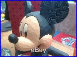 V V Rare Disney Tradition Huge'Mickey-big Smile, big Heart' 14 Over 1foot Boxed