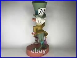 VERY RARE 2005 Disney Mad Hatter Big Figure Limited Edition MINT CONDITION